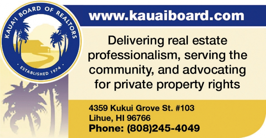 Kauai Board of Realtors