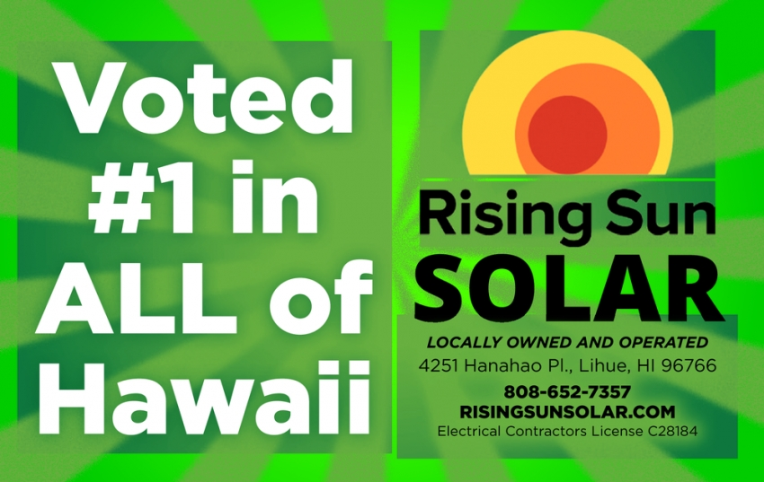 Voted #1 in All of Hawaii