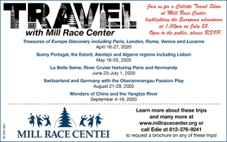 Travel With Mill Race Center