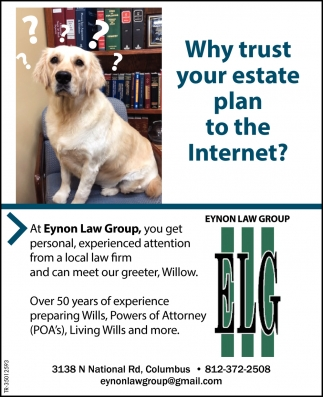 Why Trust Your Estate Plan To The Internet?