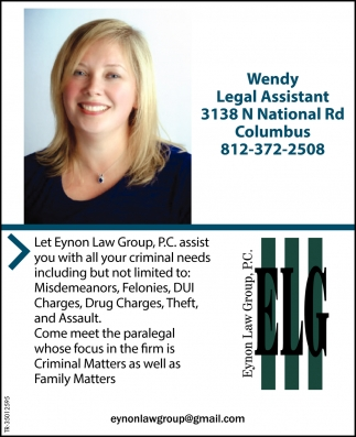 Wendy Legal Assistant