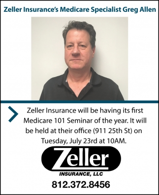 Zeller Insurance Welcomes Specialist Greg Allen