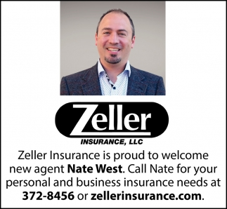 Zeller Insurance Welcomes Specialist Nate West