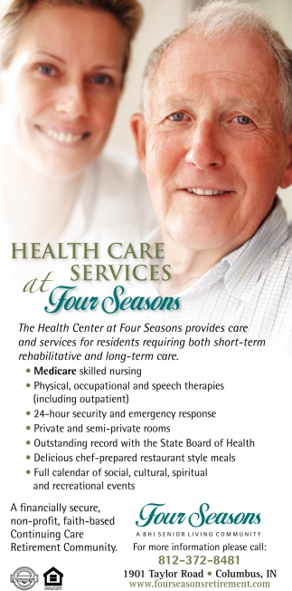 Health Care Services At For Seasons