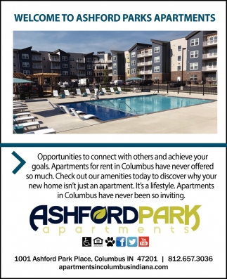 Welcome To Ashford Park Apartments
