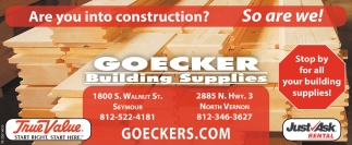 Are You Into Construction? So Are We!