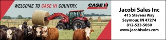 Welcome To The Case IH Country