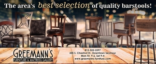The Area's Best Selection Of Quality Barstools!