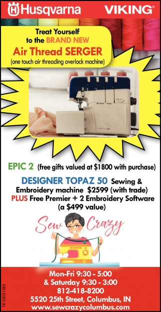 Air Thread Serger
