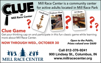 Clue At Mill Race Center