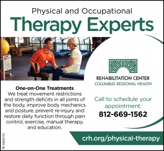 Physical And Occupational Therapy Experts