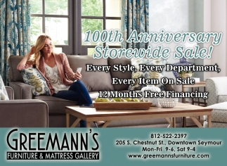 10th Anniversary Storewide Sale!