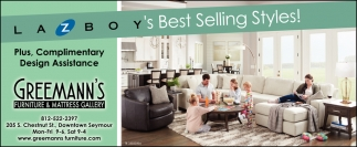Lazboy's Best Selling Styles!
