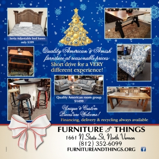 Quality American & Amish Furniture At Reasonable Prices