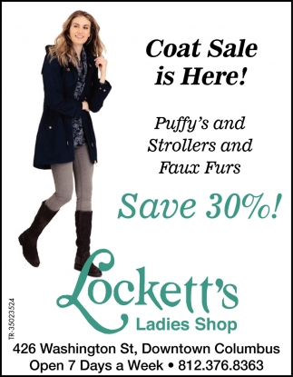 Coat Sale Is Here!