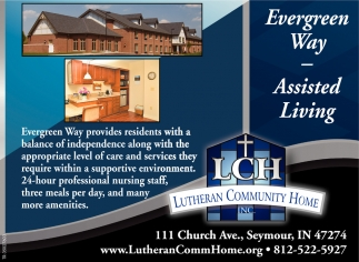 Evergreen Way - Assisted Living