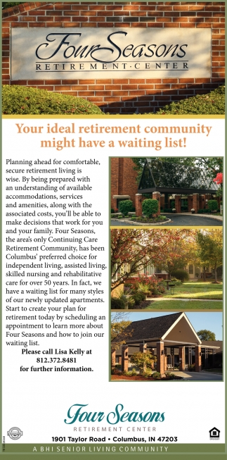 Your Ideal Retirement Community Might Have A Waiting List!