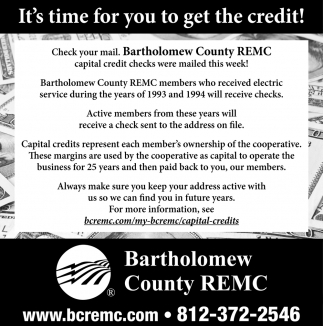It's Time For Your To Get The Credit!