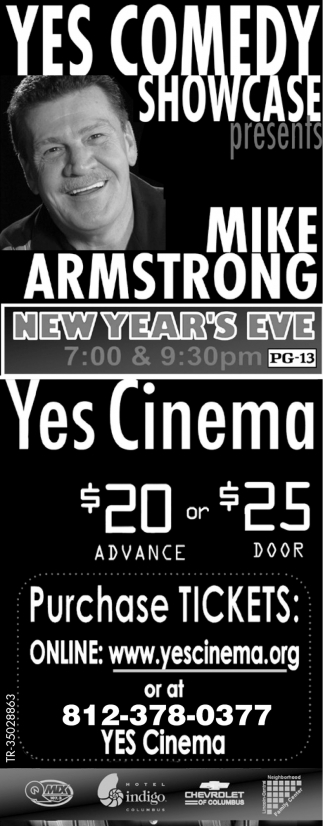 Yes Comedy Showcase Presents Mike Armstrong