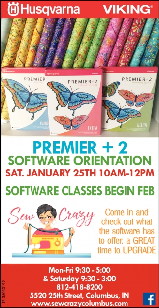 Software Classes Begin Feb