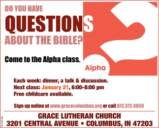 Do You Have Questions About The Bible?