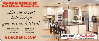 Let Our Expert Help Design Your Dream Kitchen!