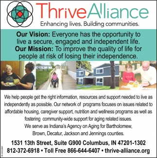 Enhancing Lives. Building Communities.