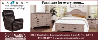 Furniture For Every Room...