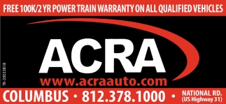 Free 100K/2 Yr Power Train Warranty On All Qualified Vehicles