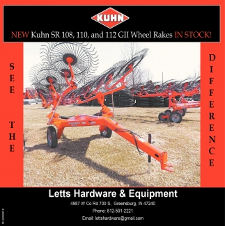 New Kuhn SR 108
