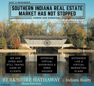 Southern Indiana Real Estate Market Has Not Stopped
