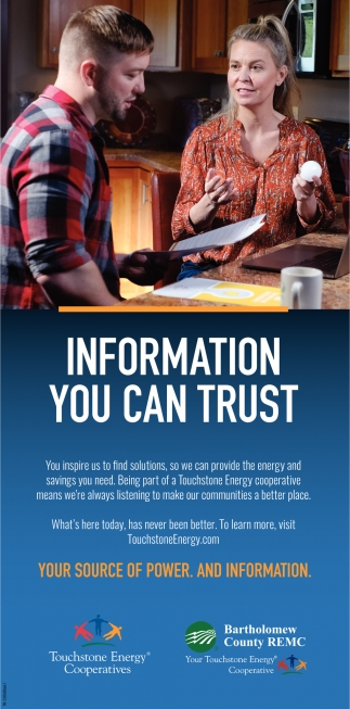 Information You Can Trust