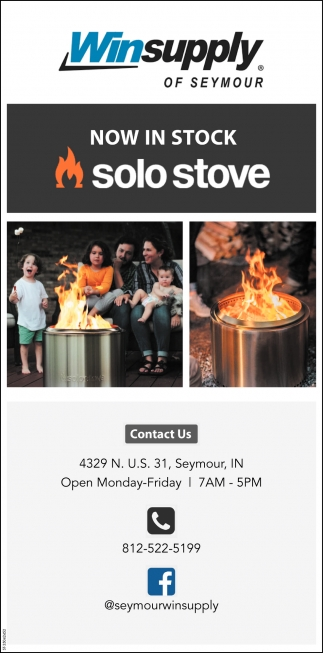 Now In Stock Solo Stove