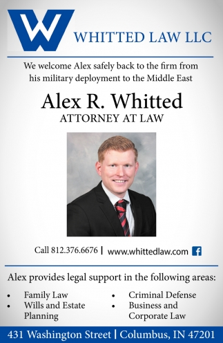 Family Law - Wills And State Planning - Criminal Defense