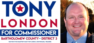 Tony London For Commissioner