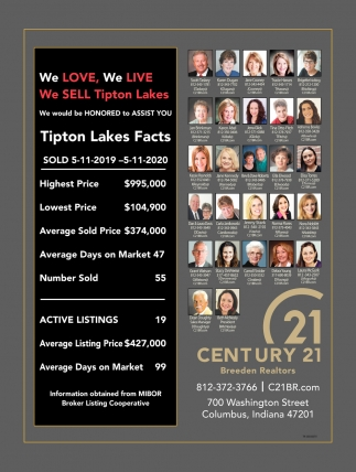 We Love, We Live We Sell Tipton Lakes