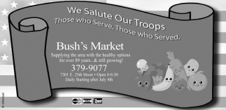 We Salute Our Troops
