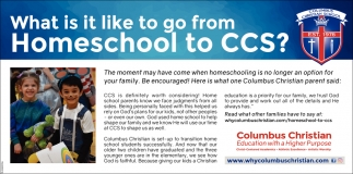What Is It Like To Go From Homeschool To CCS?