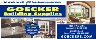 Let Us Help You With Your Home Improvement Projects!