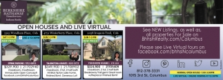 Open Houses And Live Virtual