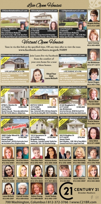 Live Open Houses