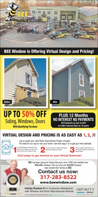 BEE Window Is Offering Virtual Design And Pricing!