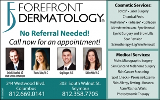 No Referral Needed!