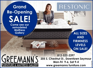 Grand Re-Opening Sale!