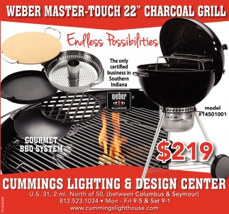 Weber Master-Touch 22'' Charcoal Grill
