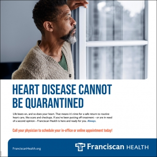 Heart Disease Cannot Be Quarantined