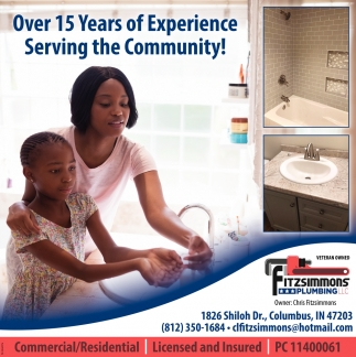 Over 15 Years Of Experience Serving The Community!
