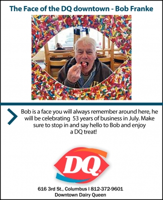 The Face Of DQ Downtown - Bob Franke