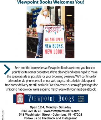 Viewpoint Books Welcomes You!