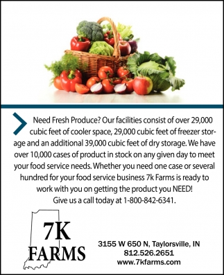 Need Fresh Produce?